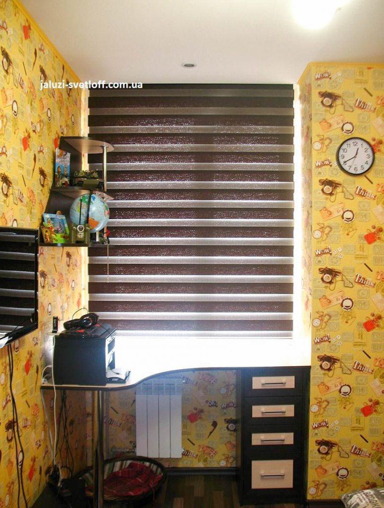 Рулонные шторы День-Ночь в комнату